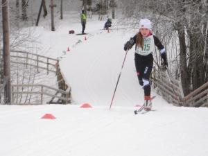 Maja Ellefsrud. Rustad-stafetten 2013.