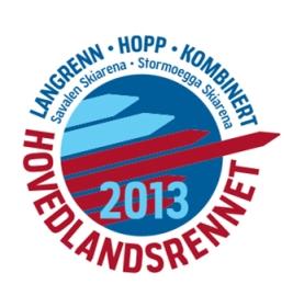 Logo hovedlandsrennet 2013