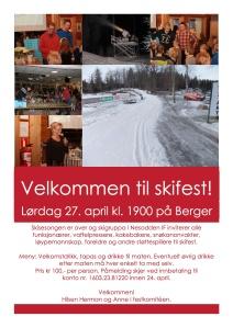 Invitasjon til skifest 2013