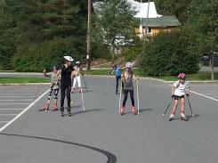 2003-gruppa under rulleskitrening