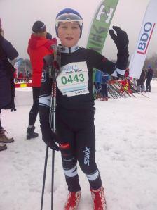 Daniel Fatnes på Halvmila 2014