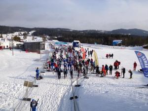På Birkebeineren Ski Stadium. Foto: Anne Irene Nygård.