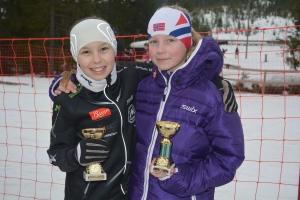 Maja og Victoria