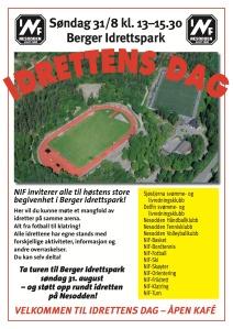 Idrettens dag 2014 plakat A3