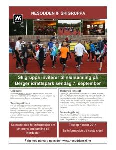Forside invitasjon nærsamling 2014