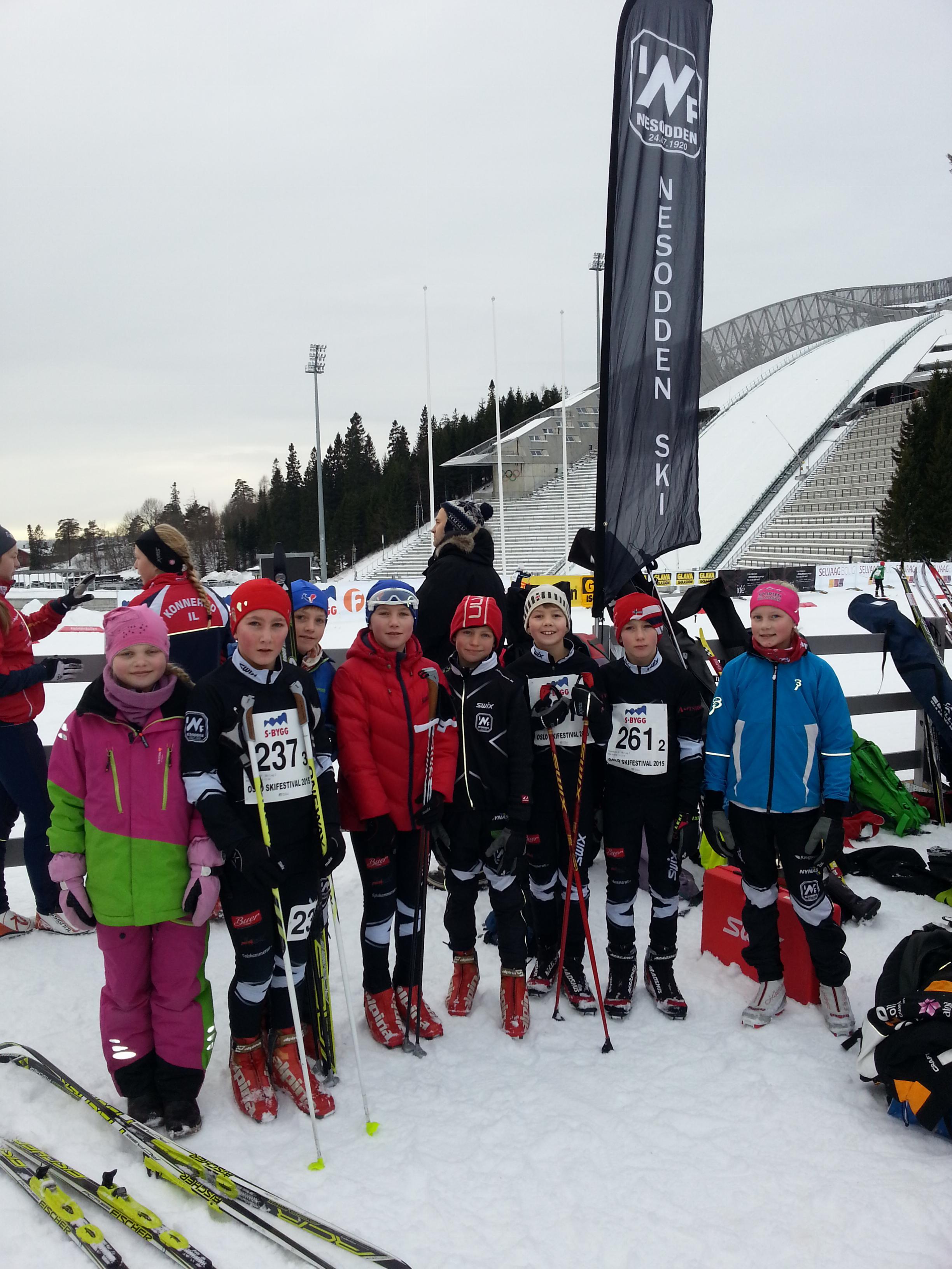 utesteder oslo 18 år Ski