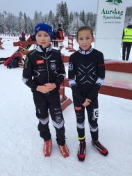 Daniel og Maja under KM Lang 2015.