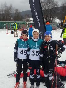 Tobias Schie, Erik Olausen og Eirik Enbusk.