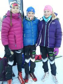 Maja, Eirik og Victoria.