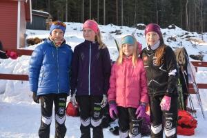 Eirik, Victoria, Amalie og Maja.
