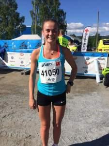 Tina Knutsmoen vant kvinneklassen i Halvbirken.