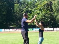 Trening med Silje og Marcel - nærsamling 2016