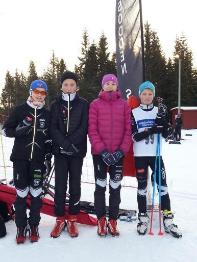 Eirik, Mads, Maja og Arnt August