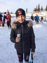 Amalie på Ribberennet i Ål