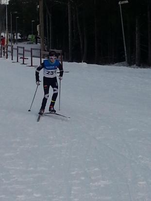Henrik Anker-Nilssen under Lommdalsrennet