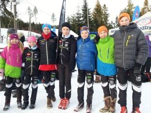 Lilja Kjær Jørgensen, Johanne Anker-Nilsen, Henrik Anker-Nilsen, Mads Hjorth-Larsen, Eirik Enbusk, Kasper Kjær Jørgensen, Gaute Lien Kjølseth