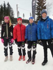 Victoria, Daniel, Eirik og Daniel