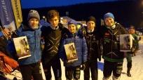 Daniel Størseth Lunde, Sondre Martinsen, Eirik Enbusk, Mads Hjorth-Larsen og Gaute Lien Kjølseth.