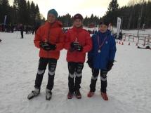 Arnt August, Amalie og Emilian
