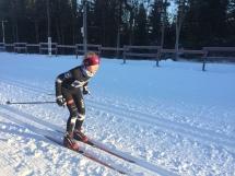 Amalie under BULL-sprinten