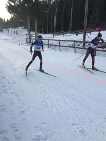 Henrik Anker-Nilsen ut fra start
