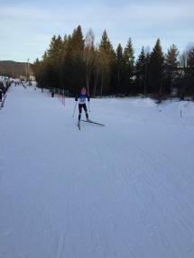 Victoria Nitteberg ut fra start