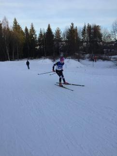 Maja Ellefsrud ut fra start