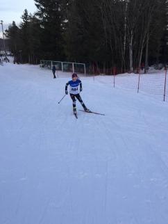 Amalie Nitteberg ut fra start