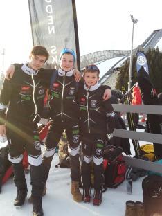 Sondre, Gaute og Eirik
