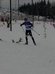 Eirik under Jutulcrossen 2017