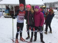 Emilie Berge Aakermann, Victoria Nitteberg og Maja Ellefsrud