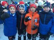 Emilian, Magnus, Tor Even og Sander