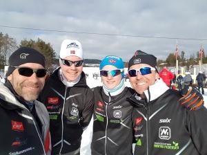 Jon, Ådne, Henrik og Morten