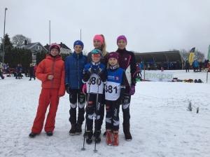 Arnt August, Eirik, Victoria, Maja Mia og Aase